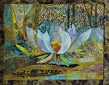 Morning Pond by Olena Nebuchadnezzar (Fiber Wall Hanging)