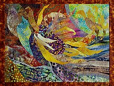 Hot Summer Night by Olena Nebuchadnezzar (Fiber Wall Hanging)