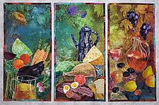 Picnic in the Farm by Olena Nebuchadnezzar (Fiber Wall Hanging)