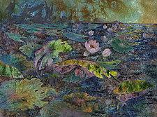 Evening Pond by Olena Nebuchadnezzar (Fiber Wall Hanging)