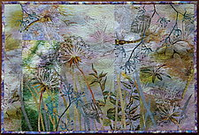 Misty Meadows by Olena Nebuchadnezzar (Fiber Wall Hanging)