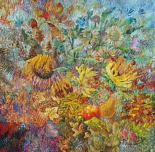Fall Gathering by Olena Nebuchadnezzar (Fiber Wall Hanging)