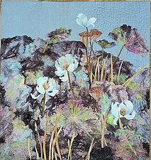 Serenity Garden by Olena Nebuchadnezzar (Fiber Wall Hanging)