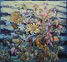 Roadside Bouquet by Olena Nebuchadnezzar (Fiber Wall Hanging)