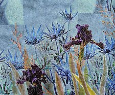 Summer Blues by Olena Nebuchadnezzar (Fiber Wall Hanging)