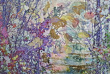 Morning Transparency by Olena Nebuchadnezzar (Fiber Wall Hanging)