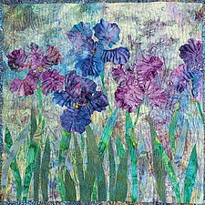 Purple Haze by Olena Nebuchadnezzar (Fiber Wall Hanging)