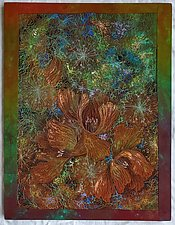 Midnight Meadows II by Olena Nebuchadnezzar (Fiber Wall Hanging)