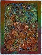 Midnight Meadows II by Olena Nebuchadnezzar (Fiber Wall Hanging)