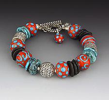 Sleeping Beauty Turquoise Bracelet by Dianne Zack (Beaded Bracelet)