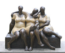 Community by Nnamdi Okonkwo (Bronze Sculpture)