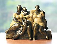 Friends by Nnamdi Okonkwo (Bronze Sculpture)