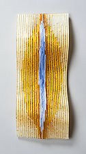 Pure Sunshine by Denise Bohart Brown (Art Glass Wall Sculpture)