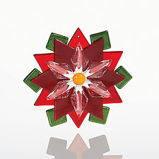 Christmas Star by Denise Bohart Brown (Art Glass Ornament)