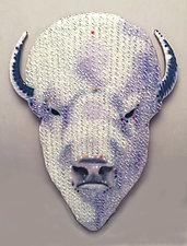 Sacred Roamer by Michael Dupille (Art Glass Wall Sculpture)