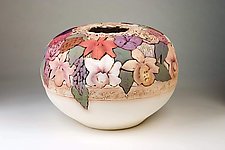 Large Oval Bouquet by John Davis (Ceramic Vessel)