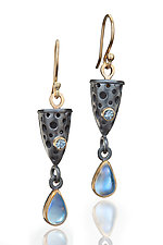 Stella Earrings by Robin  Sulkes (Gold, Silver & Stone Earrings)