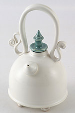 Tea for Two by Carol Tripp Martens (Ceramic Teapot)