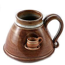 Cup in a Mug by Carol Tripp Martens (Ceramic Mug)