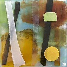 Walking in the Woods by Martha Pfanschmidt (Art Glass Wall Sculpture)