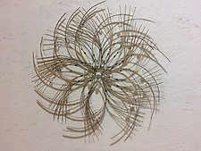 Wall Flower by Charissa Brock (Bamboo Wall Sculpture)