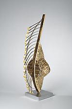 Featherback by Charissa Brock (Art Glass & Bamboo Sculpture)