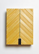 Slantwise Wall Cabinet by Amy Arnold and Kelsey  Sauber Olds (Wood Cabinet)