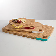 Bamboo Cutting Boards by Amy Arnold and Kelsey  Sauber Olds (Wood Cutting Board)