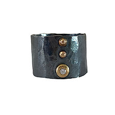 Diamond Dot Band by Nikki Nation Jewelry (Gold & Silver Ring)