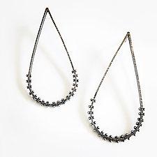 Droplet Dot Earrings by Nikki Nation (Silver Earrings)
