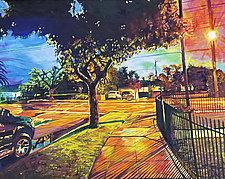 The Corner by Bonnie Lambert (Oil Painting)