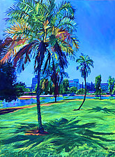 Palm Prints by Bonnie Lambert (Oil Painting)