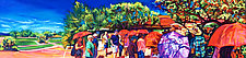 Taliesin Pilgrims by Bonnie Lambert (Oil Painting)