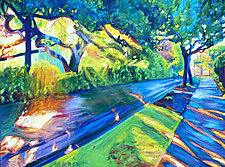Shade and Sunshine by Bonnie Lambert (Oil Painting)