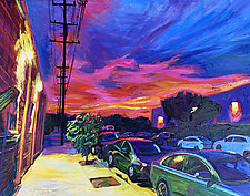 Burbank Blaze by Bonnie Lambert (Oil Painting)