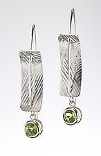 Hanging Around by Louise Norrell (Silver & Stone Earrings)