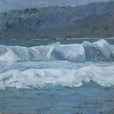 Majestic Malibu Mountains by Cynthia Eddings (Oil Painting)