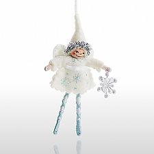 Snow Angel by Nicole Golden (Wool Felt Ornament)