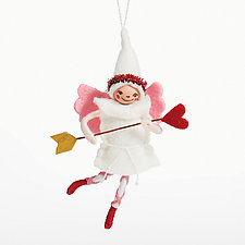 Queen of Hearts by Nicole Golden (Wool Felt Ornament)