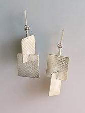 Reflections & Revolutions Earrings by Marcia Meyers (Silver Earrings)