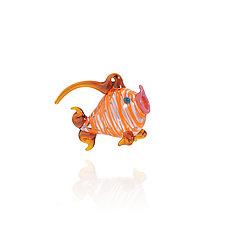 Puffer by Billy Mayer (Art Glass Ornament)