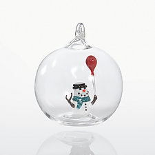 Oh Happy Day by James and Andrea Stanford (Art Glass Ornament)