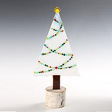 Bonbon Garland Tree by Terry Gomien (Art Glass Sculpture)