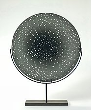 Gray Horizon by Andrew Stenerson (Art Glass Sculpture)