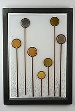 Standing Candy by Andrew Stenerson (Art Glass Wall Sculpture)