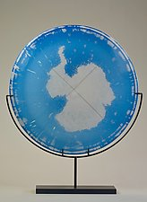 The South Pole by Andrew Stenerson (Art Glass Sculpture)