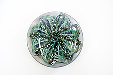 Green Sea Star by April Wagner (Art Glass Paperweight)