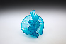 The Mechanics XIV by April Wagner (Art Glass Sculpture)