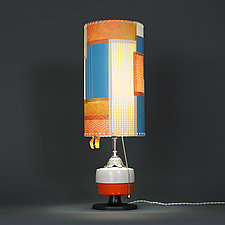 Manha de Carnaval by Mark  Taylor and James Aarons (Mixed-Media Table Lamp)