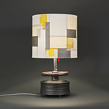 Proud Mary by Mark  Taylor and James Aarons (Mixed-Media Table Lamp)